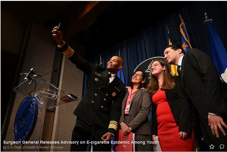 Dr. Mila Speaking at the US Surgeon General Event on E-cigarettes