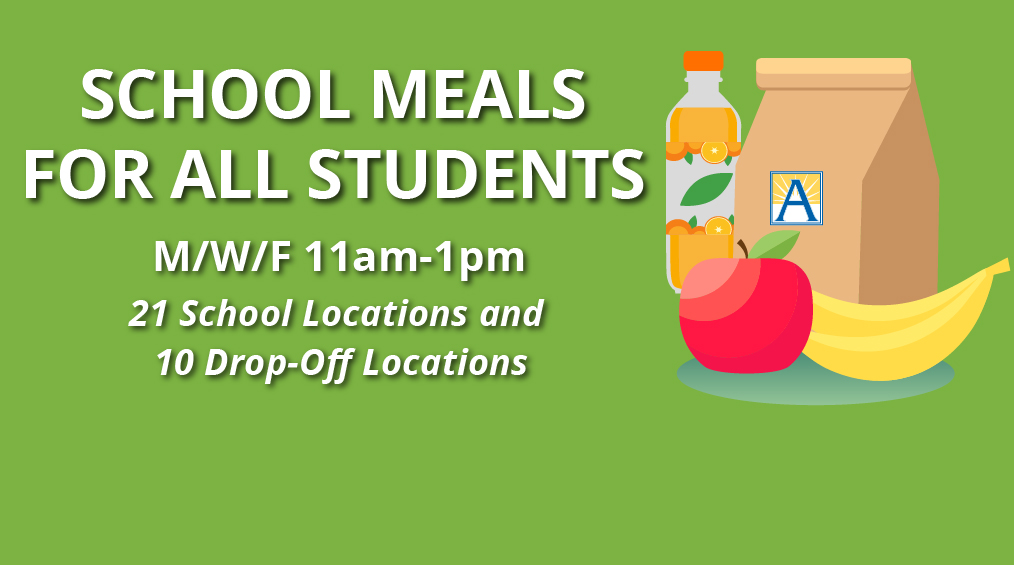 School Meal Sites – 21 Locations