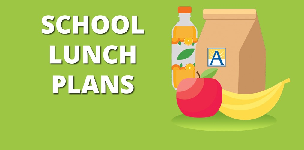 SCHOOL LUNCH PLANS AT NEW DIRECTIONS